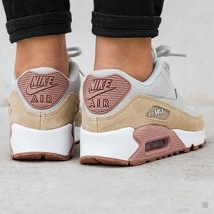 low priced 739af 24fdb Nike Shoes - Nike   women s Air Max 90 neutral multi color